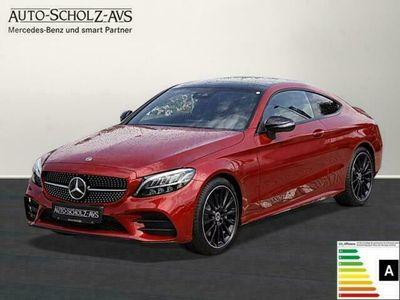 gebraucht Mercedes C300 d Coupé AMG LED*Navi*Cam*Pano*Sitzk.-P*DAB