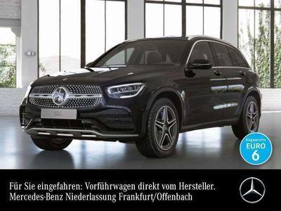 gebraucht Mercedes 200 GLCd 4Matic AMG Line Sportpaket Bluetooth Navi LED