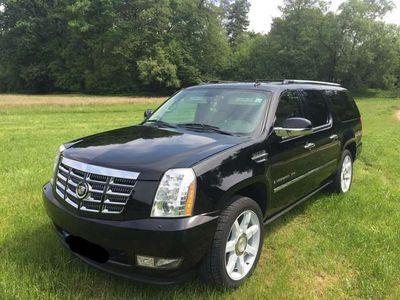 gebraucht Cadillac Escalade 6.2 V8 Sport Luxury; Langversion; LPG