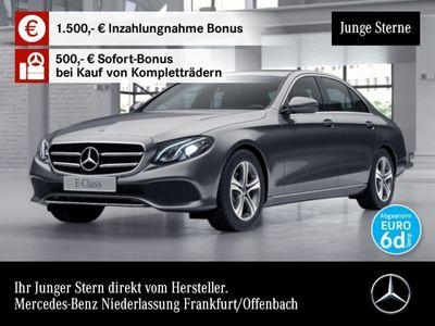 gebraucht Mercedes E220 Avantgarde LED Kamera Totwinkel PTS Sitzh