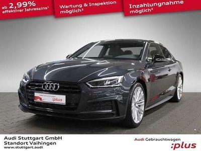 gebraucht Audi A5 Coupé 2.0 TFSI quattro S line LED Leder B&O