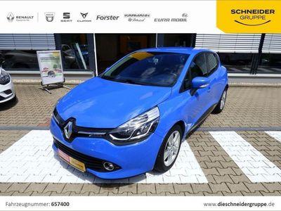 gebraucht Renault Clio IV Luxe TCe 90 eco Klima Navi SHZ