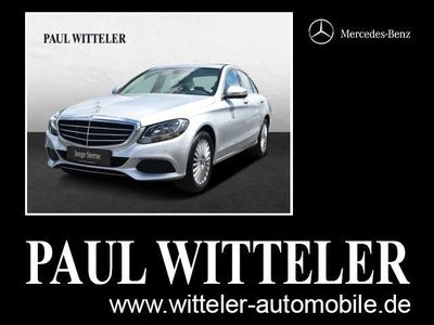 gebraucht Mercedes C200 d Exclusive/Parktronic/Tempomat Styling/BC