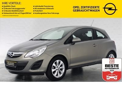 gebraucht Opel Corsa D ACTIVE+KLIMAANLAGE+AUX-IN ANSCHLUSS+ISOFIX+ZV+EL
