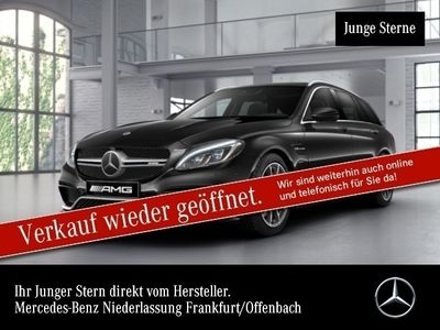 gebraucht Mercedes C63 AMG AMG T Pano ILS Fahrass+COMAND 360°Burmester