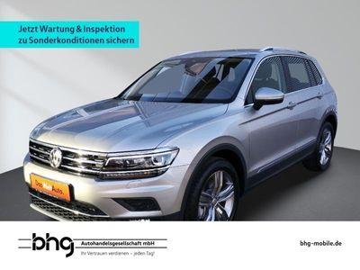 gebraucht VW Tiguan Highline 2.0TSI DSG 4Motion AHK ActivInfo Navi Assist