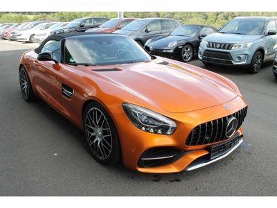 gebraucht Mercedes SLR McLaren Cabrio Orange folierter Baisfarbe Schwarz