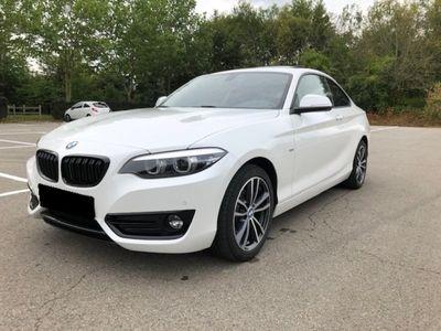 gebraucht BMW 218 218 Coupe i Sport Line