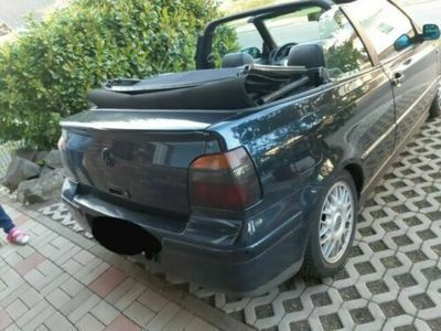 used VW Golf Cabriolet 1.6