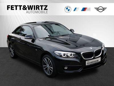 gebraucht BMW 220 i Steptronic Coupe Sport Line
