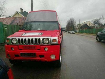 gebraucht Hummer H2 als Limousine in STRUMIVKA