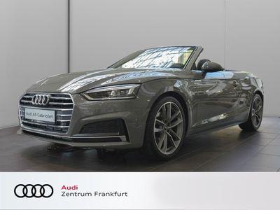 gebraucht Audi A5 Cabriolet 40 TFSI sport S tronic S line LED Leder Sitzheizung Navi
