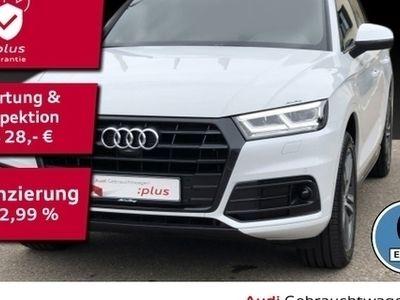 gebraucht Audi Q5 40 TDI qu. S line LED Navi AHK ACC DAB Luftfe