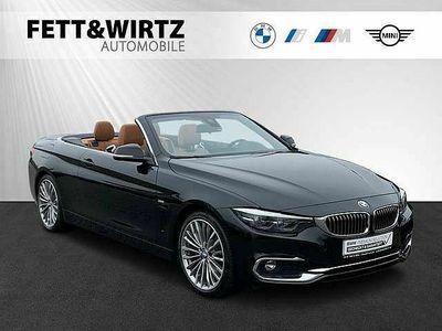 gebraucht BMW 440 i Cabrio Luxury Navi HUD LED H/K DAB 19'LM