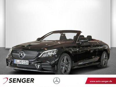 gebraucht Mercedes C220 d Cabriolet AMG Line Navi LED Rückfahrk.