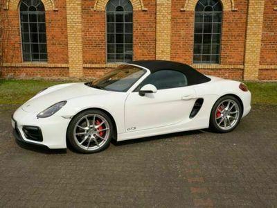 gebraucht Porsche Boxster GTS PDK (981), weiß, 6-Zyl. Sauger