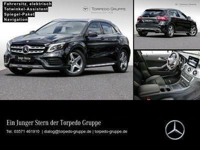 gebraucht Mercedes GLA220 4M AMG LINE LED+DISTR+PTS+SHZ+DAB