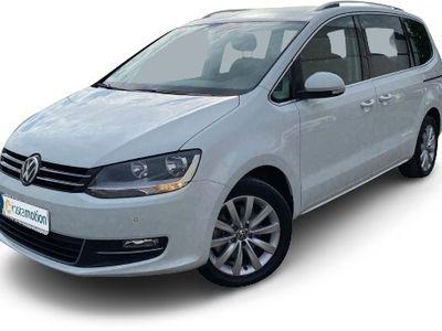 gebraucht VW Sharan SharanHighline BMT Start-Stopp 1.4 TSI Navi Kurvenlicht e-Sitze ACC AHK-klappbar
