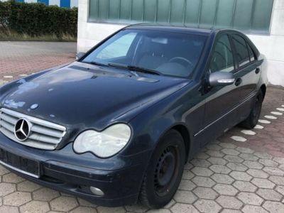 gebraucht Mercedes C200 CDI Classic Klima A Stand Heizung 90 kw