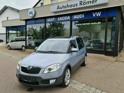 gebraucht Skoda Roomster Scout Plus Edition 1.9 TDI Panorama