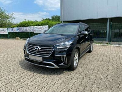 gebraucht Hyundai Grand Santa Fe Premium blue 4WD