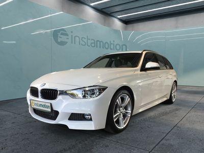 gebraucht BMW 320 320 d M Sport Touring EURO 6 Aut Navi LED Temp Klima PDC