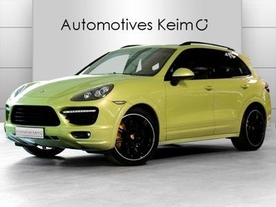 gebraucht Porsche Cayenne GTS BURMESTER PDCC LUFT PANO KAM VOLL!!!