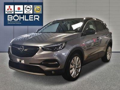 gebraucht Opel Grandland X 1.2 Turbo EU6d / LEDER / R-KAMERA