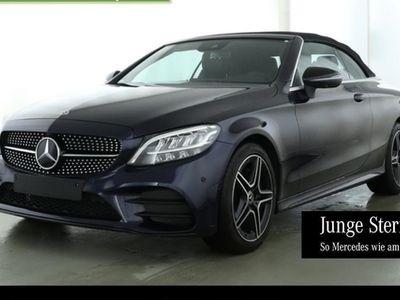 gebraucht Mercedes C220 d Cabrio AMG Night Comand LED 360°Kamera