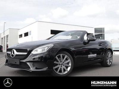 gebraucht Mercedes 180 SLCSpur-Paket Navi LED/ILS Panorama