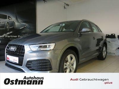 gebraucht Audi Q3 sport 2.0 TDI quattro *LED*Navi*S line
