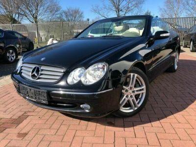 gebraucht Mercedes CLK500 CLK CabrioAvantgarde Leder