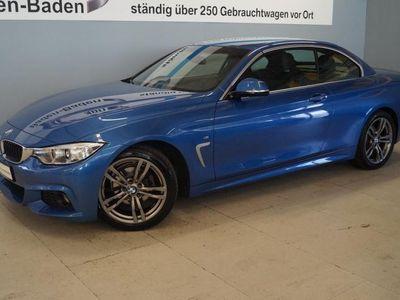 gebraucht BMW 420 i Cabrio M Sport Aut. Navi Business Klimaaut.