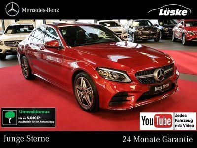 gebraucht Mercedes C400 4M AMG Line Assistenz MULTIBEAM CarPlay