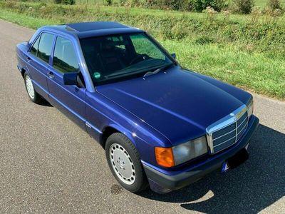 gebraucht Mercedes 190 2.3 AVANTGARDE AZZURRO SPORTLINE ORIGINAL