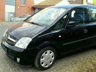 gebraucht Opel Meriva 1.6 Anhängerkupplung, Klima, T...