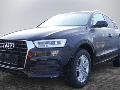 gebraucht Audi Q3 2.0 TDI quattro S tronic S line LED Navi GRA