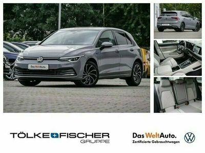 gebraucht VW Golf VIII Style eTSI 1.5 DSG LED Navi Massagesitze e-Sitze ACC Panorama PDCv+h LED-hinten