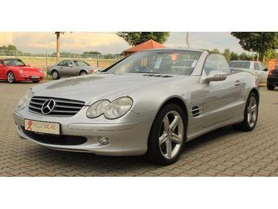 gebraucht Mercedes SL500 aus 1. Hand Erstlack rundum