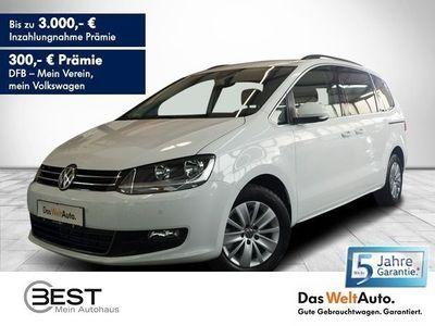 """gebraucht VW Sharan Comfortline 2.0 TDI DSG 7-Sitzer, Navi, PDC, Shz, LM 16"""""""