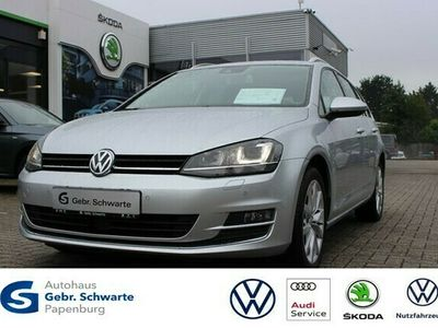 gebraucht VW Golf VII 2.0 TDI DSG Highline BI-XENON+AHK