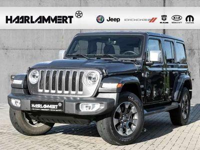 gebraucht Jeep Wrangler Unlimited Sahara 2.2 CRDi LEDER+LED+APPLE CARPLAY