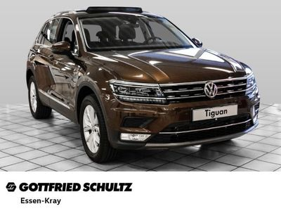 gebraucht VW Tiguan Highline 2.0 TSI BMT 4MOTION DSG, Navi, Fahrerassistenz-Paket Plus, Top-Paket