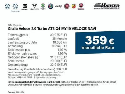 gebraucht Alfa Romeo Giulia Veloce 2.0 Turbo Q4 VELOCE bei Gebrachtwagen.expert