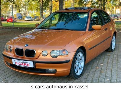 gebraucht BMW 316 Compact ti Klimatronic,Automatik,PDC,SHD,ALU als Sportwagen/Coupé in Hessen - Kassel