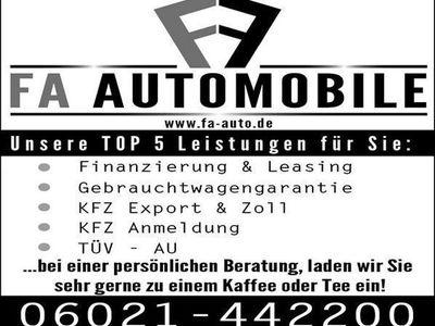 gebraucht BMW 318 D M Sportpaket Navi Leder LED 18 Zoll Pdc