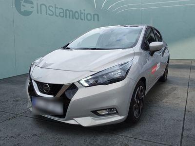 gebraucht Nissan Micra Micra1.0 IG-T 5MT 92 PS N-WAY Navi Sitzheizung