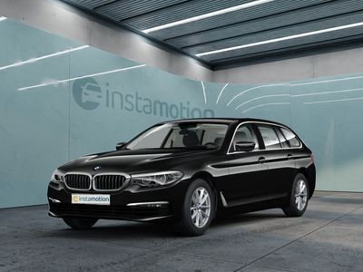gebraucht BMW 520 520 i Touring EU6d-T Navi Business HUD PDC Klima CD SHZ Alarmanlage