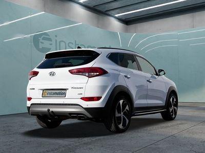 gebraucht Hyundai Tucson Tucson1.6 4WD Premium Schiebedach Klima DAB Shzg