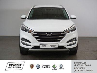 gebraucht Hyundai Tucson 1.7 CRDi Advantage blue 2WD, Navi Lenkradhz GRA PD